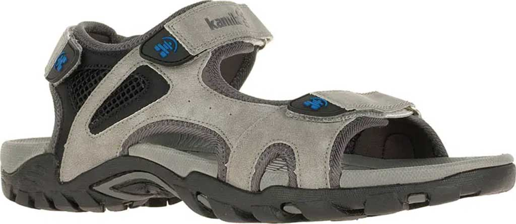 Men's Kamik Milos Active Sandal, Light Grey, large, image 1