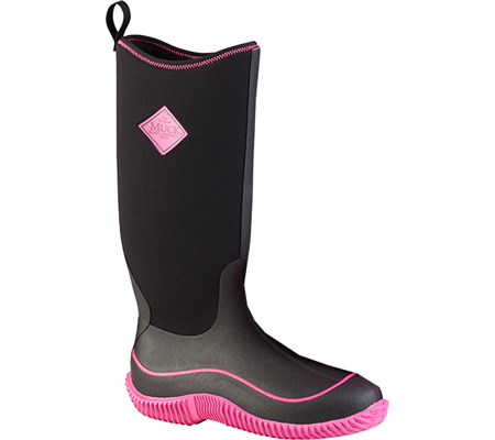 Women's Muck Boots Hale Boot, Black/Pink, large, image 1
