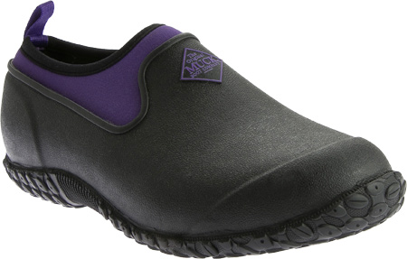 Women's Muck Boots Muckster II Low Slip-On, Black/Purple, large, image 1