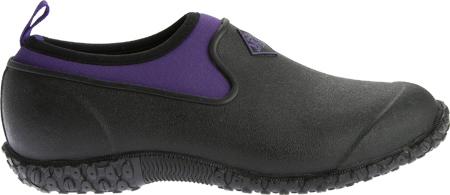 Women's Muck Boots Muckster II Low Slip-On, Black/Purple, large, image 2