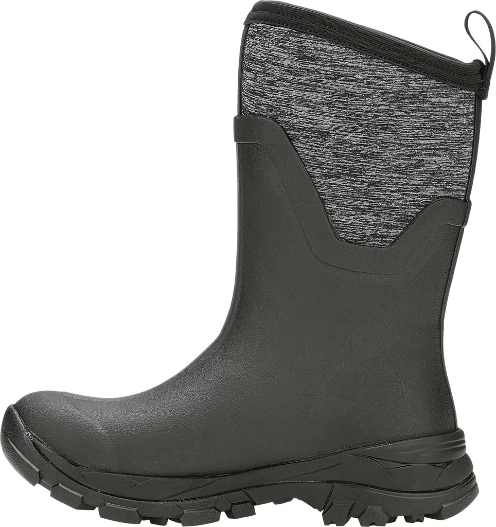Women's Muck Boots Arctic Ice Mid AG Waterproof Boot, Black/Jersey Heather, large, image 3