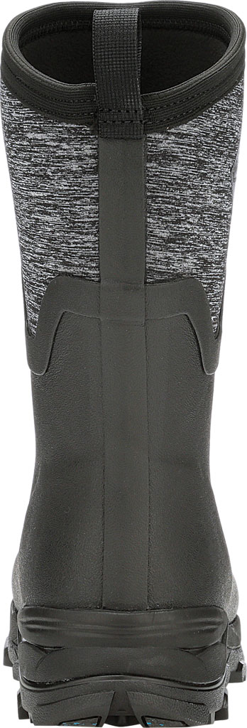 Women's Muck Boots Arctic Ice Mid AG Waterproof Boot, Black/Jersey Heather, large, image 4