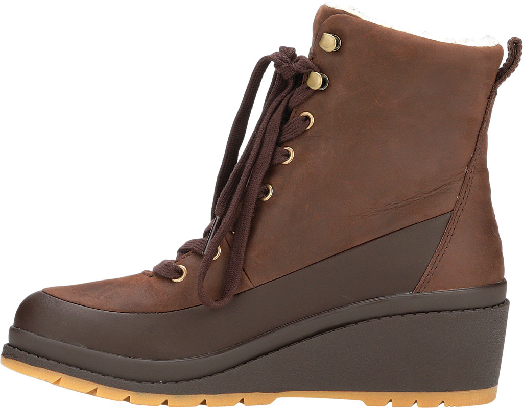Women's Muck Boots Liberty Wedge Supreme Ankle Bootie, Brown, large, image 3