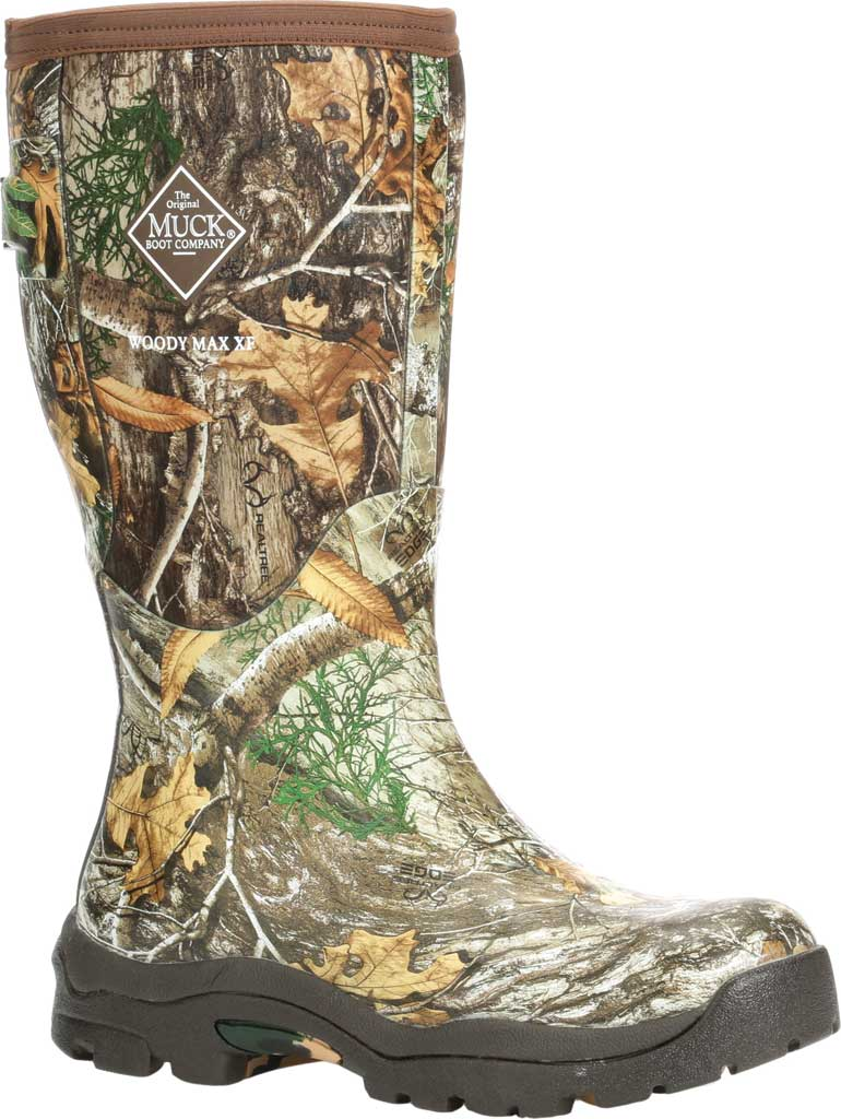 Women's Muck Boots Woody Max XF Alpine Knee High Boot, Bison/Realtree Edge, large, image 1