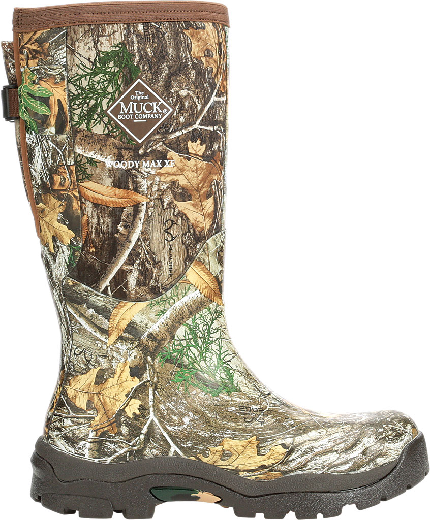 Women's Muck Boots Woody Max XF Alpine Knee High Boot, Bison/Realtree Edge, large, image 2