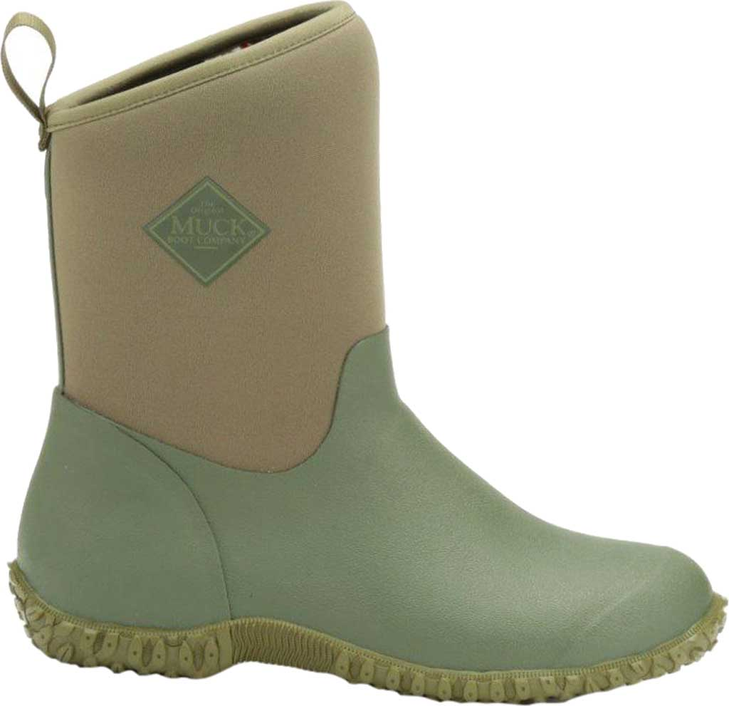 Women's Muck Boots Muckster II Low Bootie, Green, large, image 1