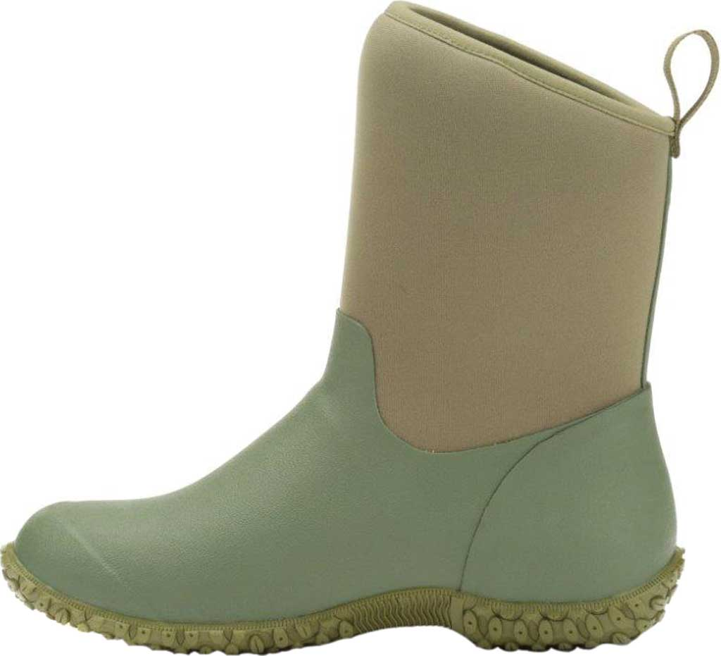 Women's Muck Boots Muckster II Low Bootie, Green, large, image 2