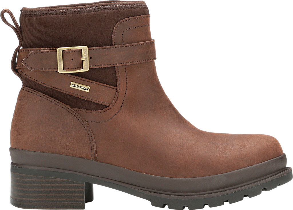 Women's Muck Boots Liberty Ankle Leather Boot, Brown, large, image 2