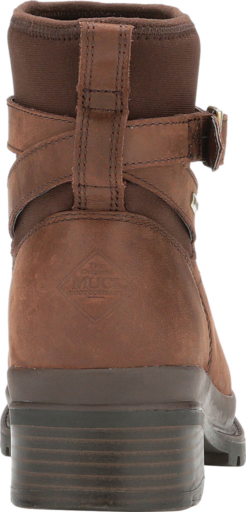 Women's Muck Boots Liberty Ankle Leather Boot, Brown, large, image 4