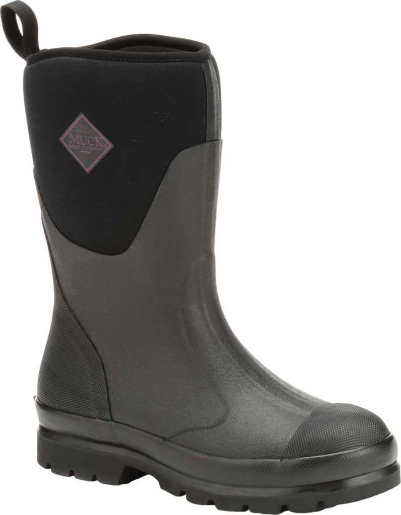 Women's Muck Boots Chore Mid Calf Boot, Black, large, image 1