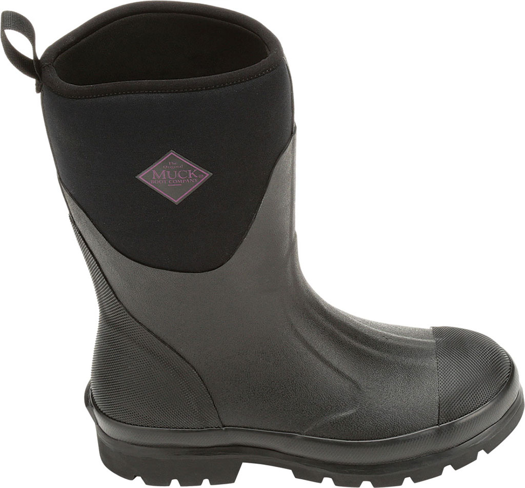 Women's Muck Boots Chore Mid Calf Boot, Black, large, image 2