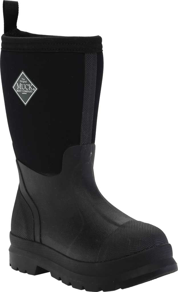 Children's Muck Boots Chore Work Boot, Black, large, image 1