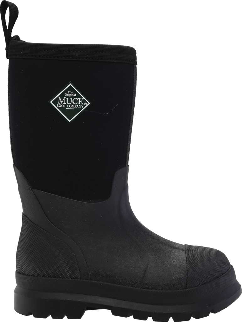 Children's Muck Boots Chore Work Boot, Black, large, image 2