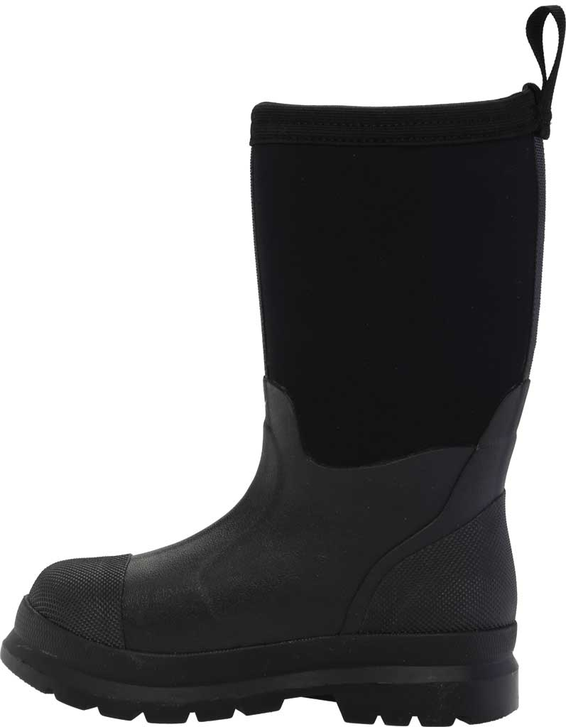 Children's Muck Boots Chore Work Boot, Black, large, image 3