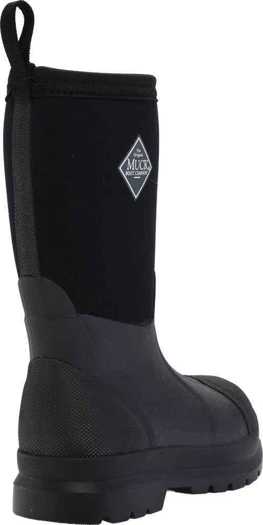Children's Muck Boots Chore Work Boot, Black, large, image 4
