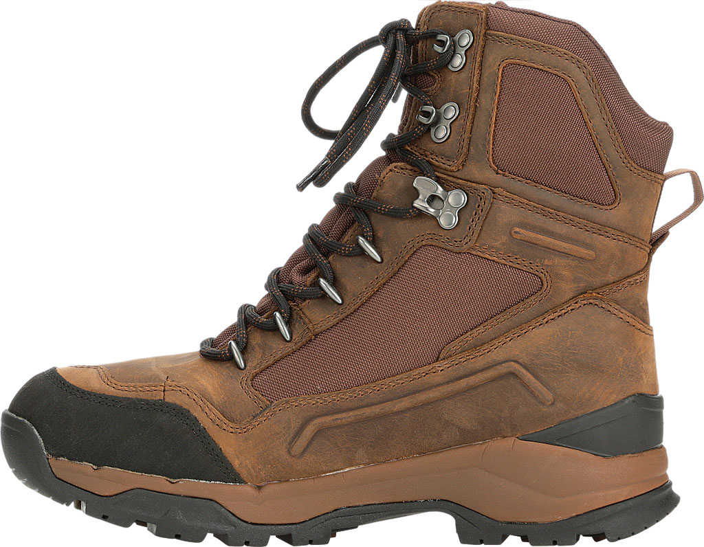 """Men's Muck Boots Summit Lace 8"""" Non-Insulated Boot, Brown/Black, large, image 3"""