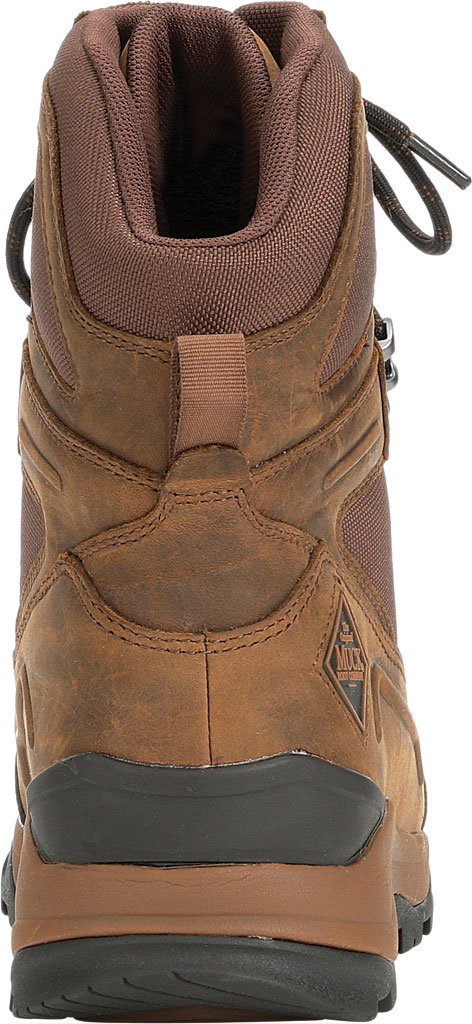 """Men's Muck Boots Summit Lace 8"""" Non-Insulated Boot, Brown/Black, large, image 4"""