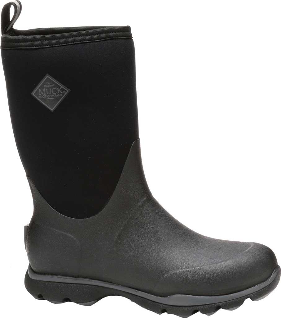 Men's Muck Boots Arctic Excursion Mid Calf Boot, Black, large, image 1
