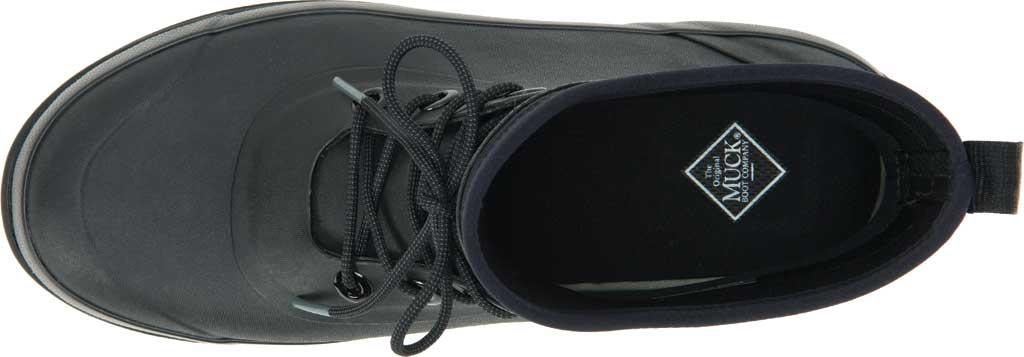 Men's Muck Boots Muck Originals Modern Lace Up Waterproof Boot, Black, large, image 4