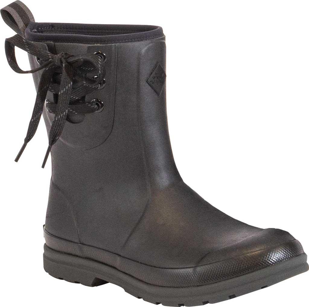 Women's Muck Boots Muck Originals Pull On Mid Waterproof Boot, Black, large, image 1