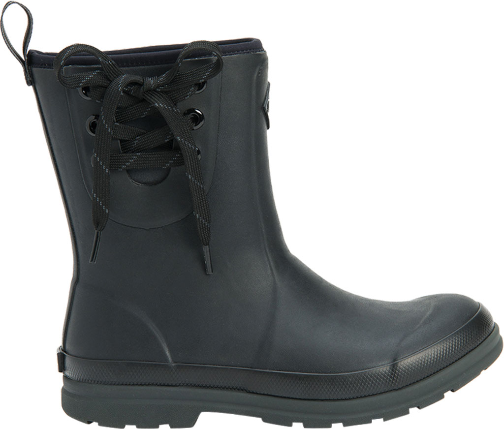 Women's Muck Boots Muck Originals Pull On Mid Waterproof Boot, Black, large, image 2