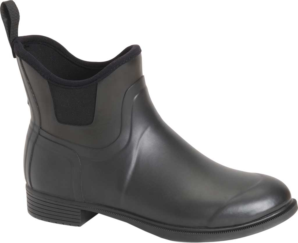 Women's Muck Boots Derby Equestrian Pull On Boot, Black, large, image 1