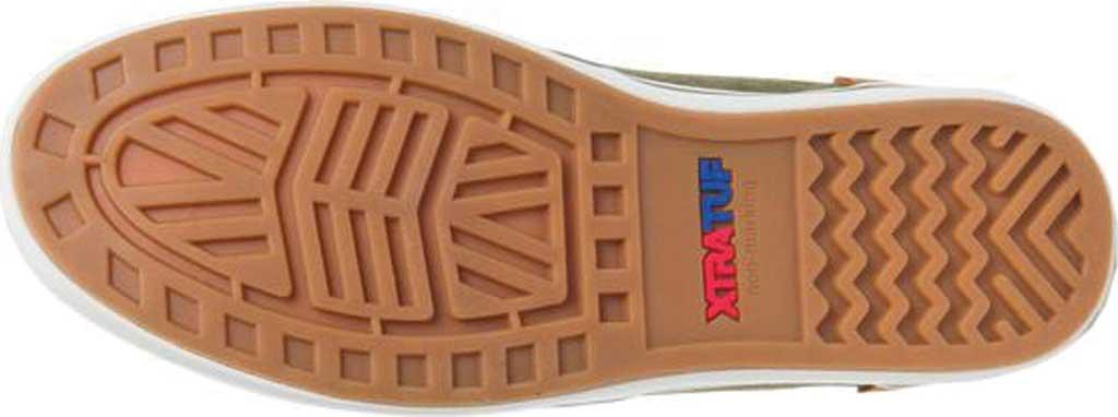 Men's XTRATUF Sharkbyte Canvas Deck Shoe, Green Stone Wash Canvas, large, image 6