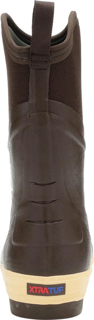 "Men's XTRATUF 12"" Elite Plain Toe Insulated Fishing Boot, Copper/Tan Neoprene/Spandura Nylon, large, image 4"