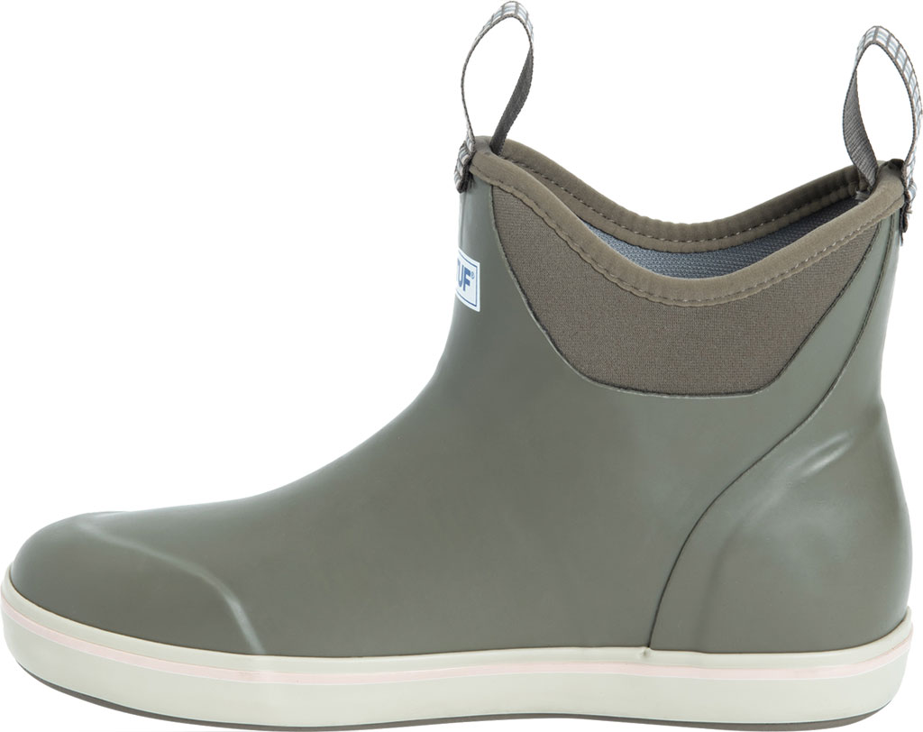 """Women's XTRATUF 6"""" Ankle Deck Boot, Taupe Waterproof Rubber, large, image 3"""
