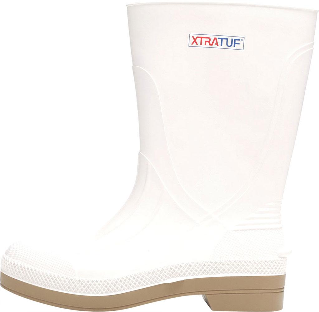 "Men's XTRATUF 11"" Shrimp Boot, White PVC, large, image 3"