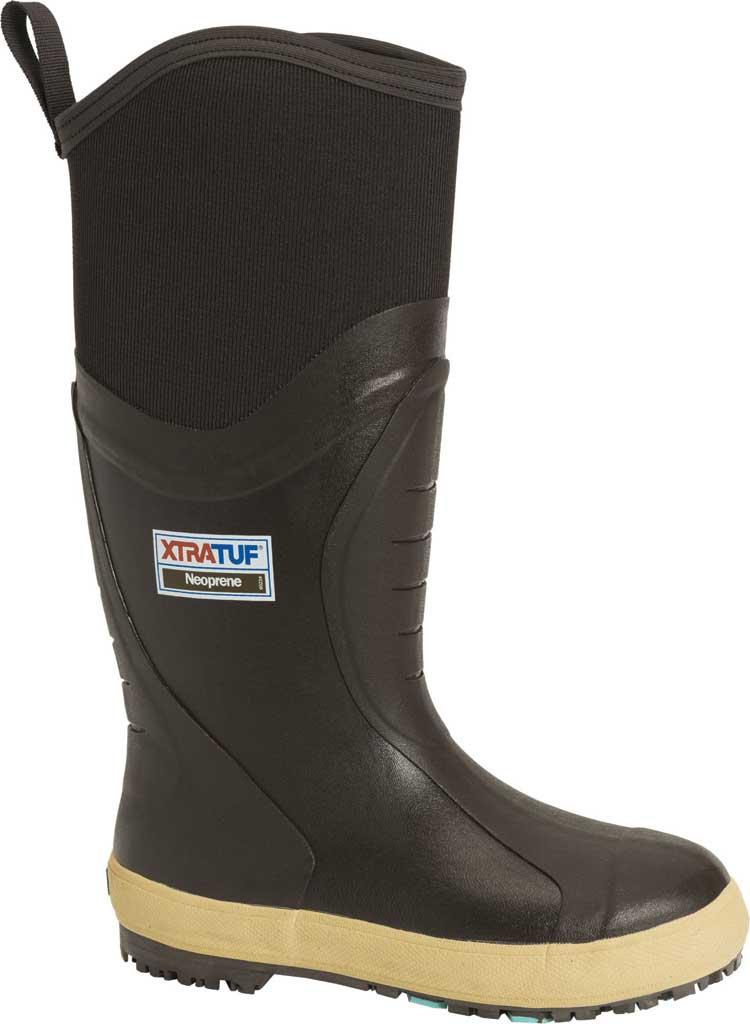 """Men's XTRATUF 15"""" Swingsaw GlacierTrek Pro Legacy Boot, Brown HDR Rubber/Neoprene, large, image 1"""