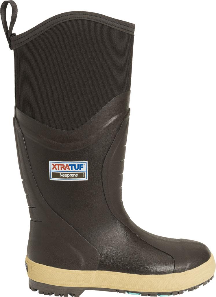 """Men's XTRATUF 15"""" Swingsaw GlacierTrek Pro Legacy Boot, Brown HDR Rubber/Neoprene, large, image 2"""