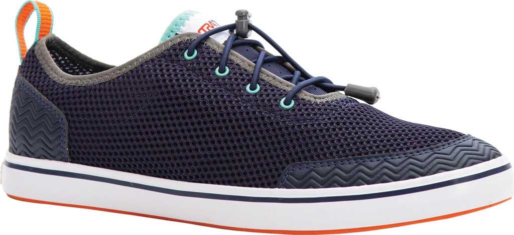 Men's XTRATUF Riptide Deck Shoe, Navy Air Mesh, large, image 1