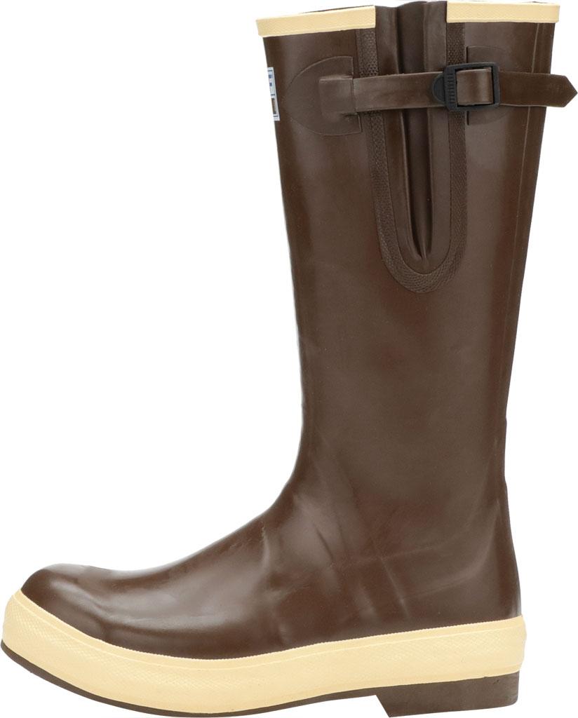 "Men's XTRATUF 15"" Legacy Gusset Wide Calf Boot, Copper/Tan Latex/Neoprene, large, image 3"