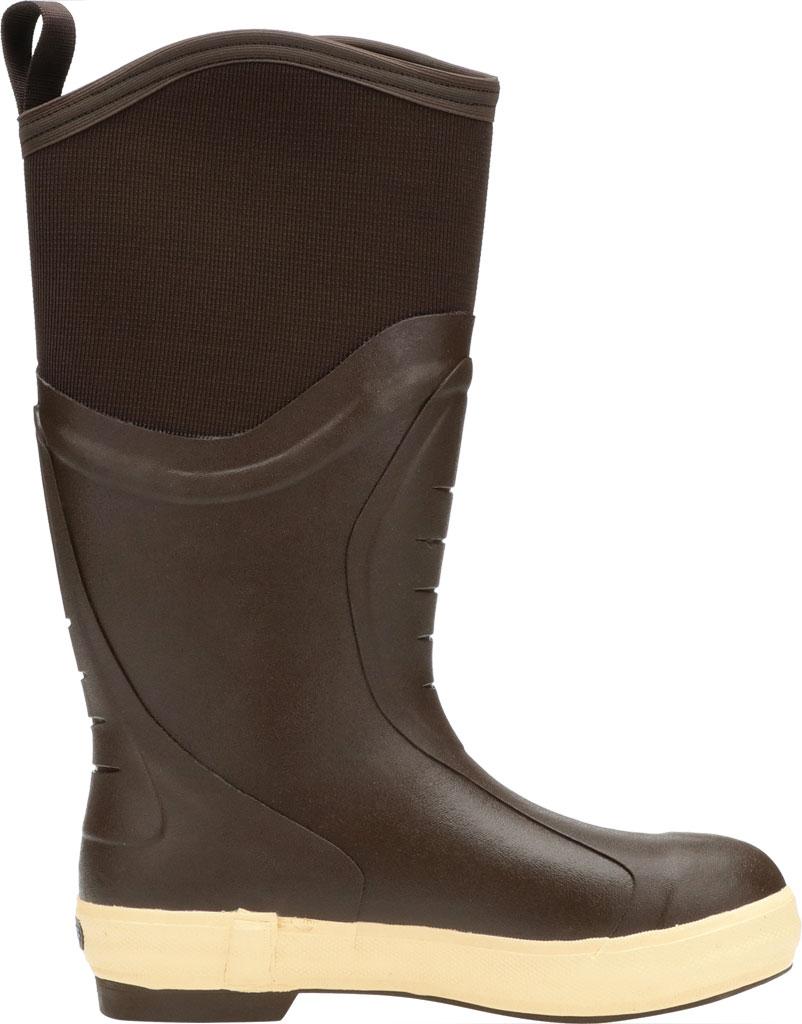 "Men's XTRATUF 15"" Elite Plain Toe Insulated Fishing Boot, Copper/Tan Neoprene/Spandura Nylon, large, image 2"