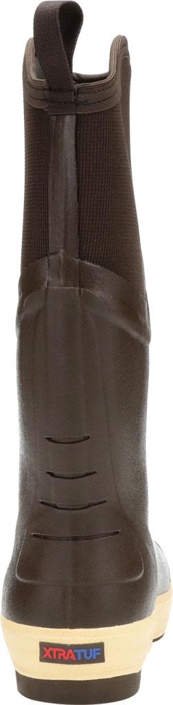 "Men's XTRATUF 15"" Elite Plain Toe Insulated Fishing Boot, Copper/Tan Neoprene/Spandura Nylon, large, image 4"