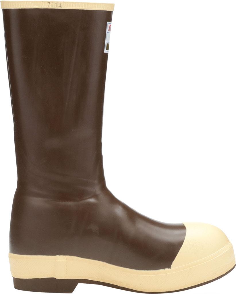 "Men's XTRATUF 15"" Legacy Insulated Steel Toe Fishing Boot, Copper/Tan Latex/Neoprene, large, image 2"