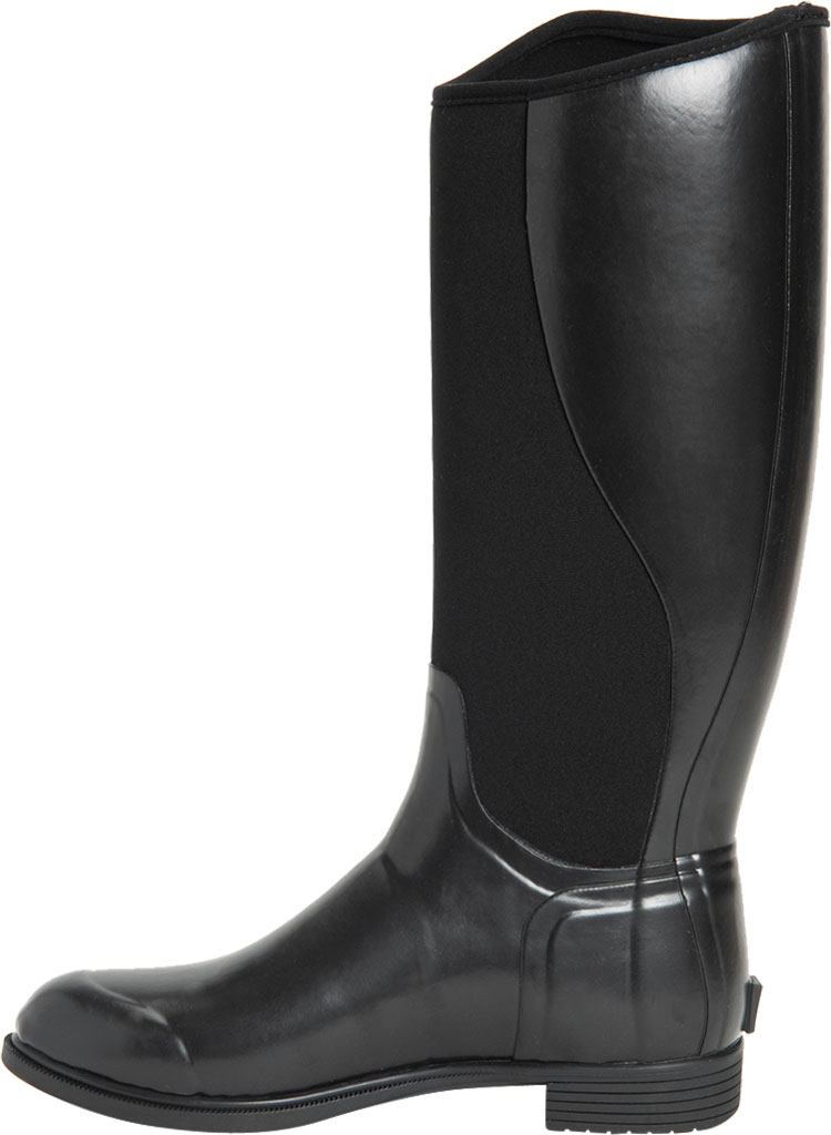 Women's Muck Boots Derby Tall Riding Boot, Black, large, image 3