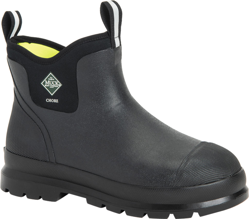 Men's Muck Boots Chore Classic Work Boot, Black, large, image 1