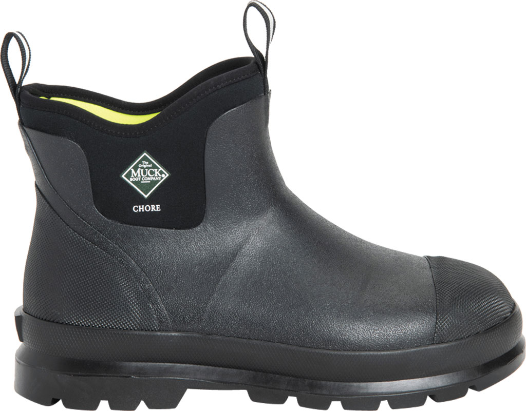 Men's Muck Boots Chore Classic Work Boot, Black, large, image 2