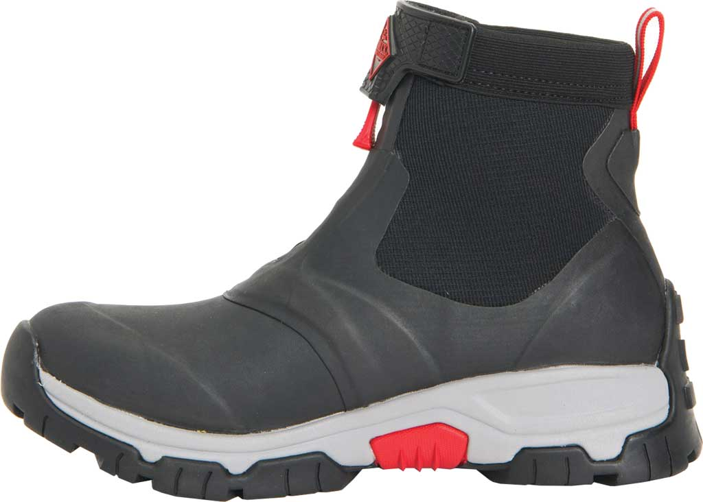 Men's Muck Boots Apex Mid Zip Hunting Boot, Black/Light Grey, large, image 3