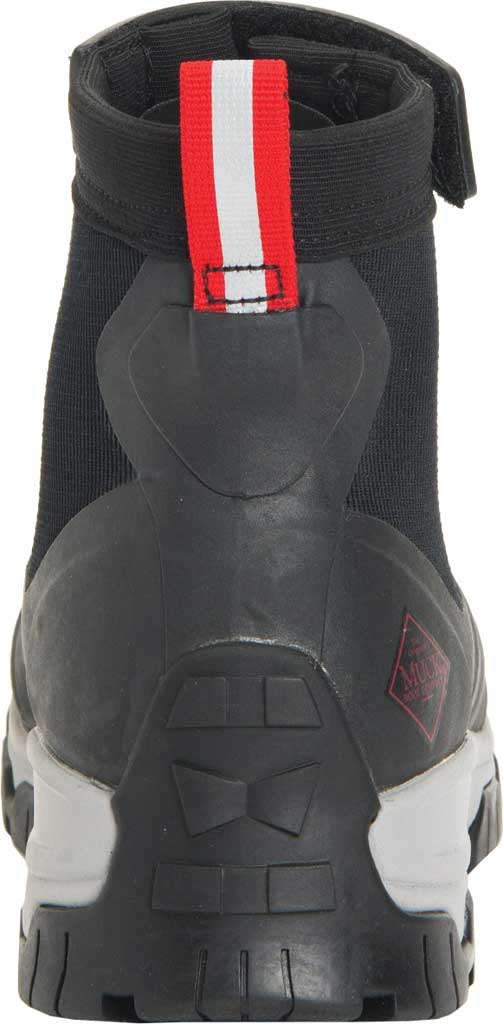 Men's Muck Boots Apex Mid Zip Hunting Boot, Black/Light Grey, large, image 4