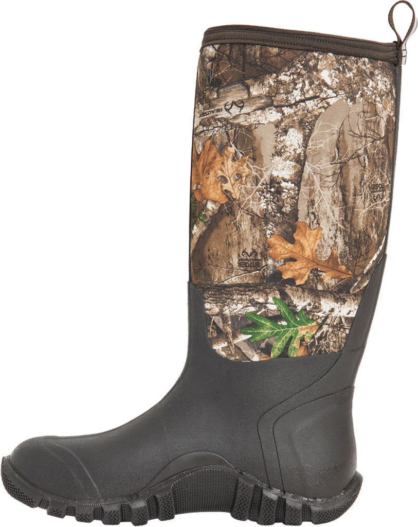 Men's Muck Boots Fieldblazer Classic Fleece Hunting Boot, Real Tree Edge, large, image 3