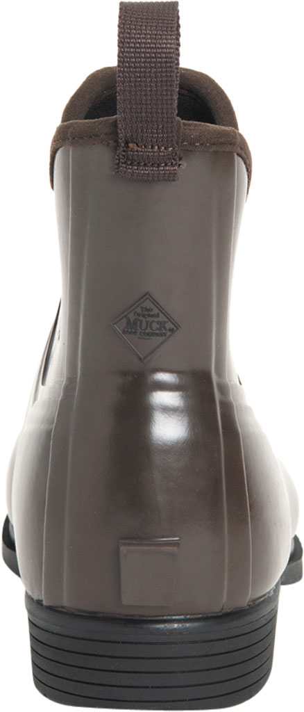 Women's Muck Boots Derby Ankle Rubber Riding Boot, Brown, large, image 4