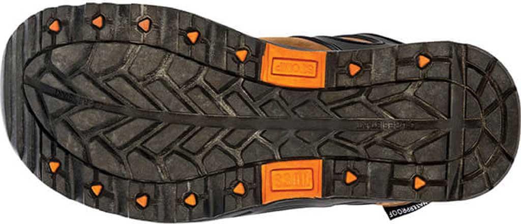 "Men's Hoss Boots Stomp 6"" Waterproof Aluminum Toe Work Boot, Brown Full Grain Crazy Horse Leather, large, image 3"
