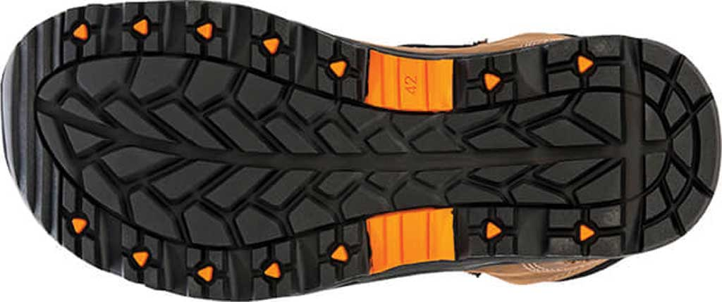 """Men's Hoss Boots Blocker 6"""" Aluminum Toe Work Boot, Brown Full Grain Leather, large, image 3"""