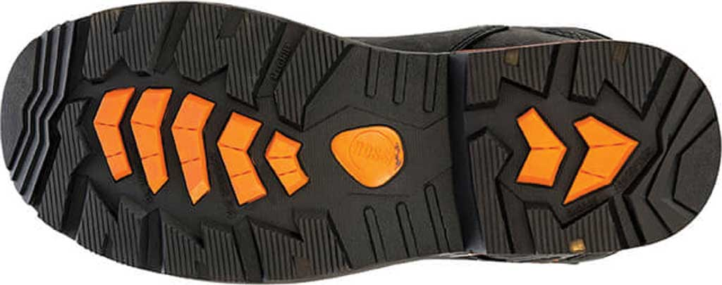 "Men's Hoss Boots Range 6"" Waterproof Composite Toe Boot, Black Full Grain River Bison Leather, large, image 3"