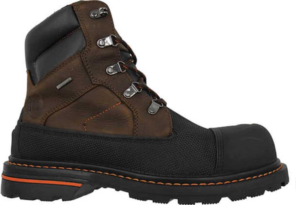 "Men's Hoss Boots K-Tough 6"" Waterproof Composite Toe Boot, Kevlar/Muddy River Full Grain Leather, large, image 2"