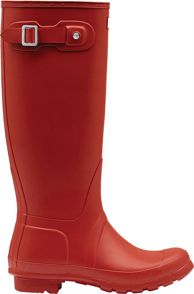 Women's Hunter Original Tall Rain Boot, Military Red, large, image 2