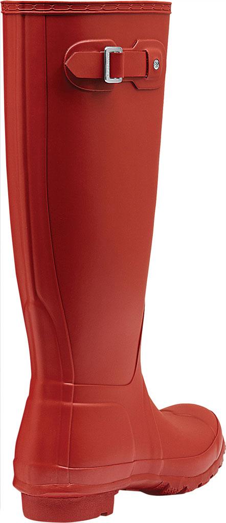 Women's Hunter Original Tall Rain Boot, Military Red, large, image 3